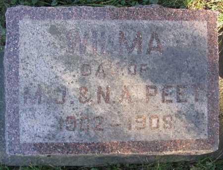 PEET, WILMA - Linn County, Iowa | WILMA PEET