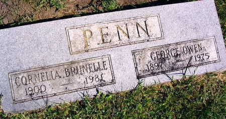 PENN, GEORGE OWEN - Linn County, Iowa | GEORGE OWEN PENN