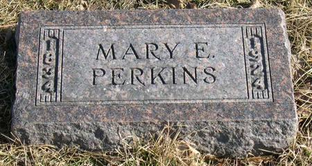 PERKINS, MARY E. - Linn County, Iowa | MARY E. PERKINS
