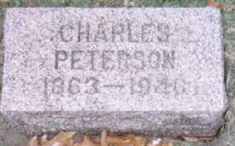 PETERSON, CHARLES - Linn County, Iowa | CHARLES PETERSON