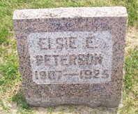 PETERSON, ELSIE E. - Linn County, Iowa | ELSIE E. PETERSON