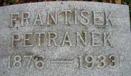 PETRANEK, FRANTISEK - Linn County, Iowa | FRANTISEK PETRANEK
