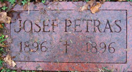 PETRAS, JOSEF - Linn County, Iowa | JOSEF PETRAS