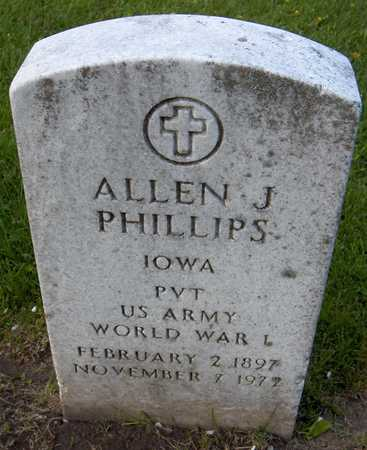 PHILLIPS, ALLEN J. - Linn County, Iowa | ALLEN J. PHILLIPS