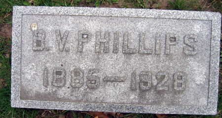 PHILLIPS, B. V. - Linn County, Iowa | B. V. PHILLIPS
