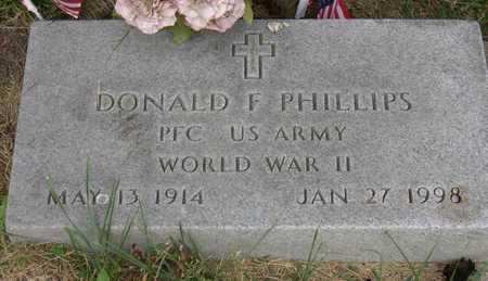 PHILLIPS, DONALD F. - Linn County, Iowa | DONALD F. PHILLIPS