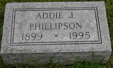 PHILLIPSON, ADDIE J. - Linn County, Iowa | ADDIE J. PHILLIPSON