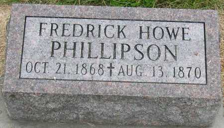 PHILLIPSON, FREDRICK HOWE - Linn County, Iowa | FREDRICK HOWE PHILLIPSON