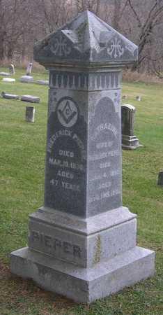PIEPER, FAMILY STONE - Linn County, Iowa | FAMILY STONE PIEPER