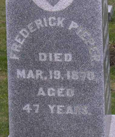PIEPER, FREDERICK - Linn County, Iowa | FREDERICK PIEPER