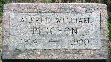PIDGEON, ALFRED WILLIAM - Linn County, Iowa | ALFRED WILLIAM PIDGEON
