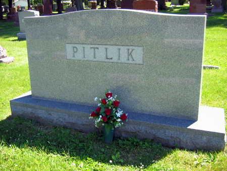 PITLIK, FAMILY STONE   (PITLIK TEHEL) - Linn County, Iowa | FAMILY STONE   (PITLIK TEHEL) PITLIK