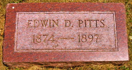 PITTS, EDWIN D. - Linn County, Iowa | EDWIN D. PITTS