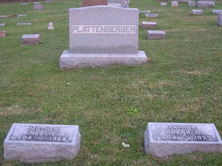 PLATTENBERGER, FAMILY STONE - Linn County, Iowa | FAMILY STONE PLATTENBERGER