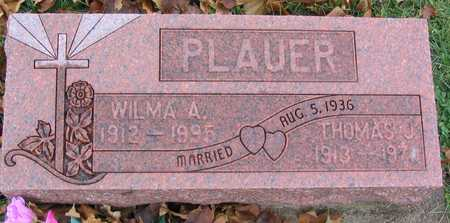 PLAUER, WILMA A. - Linn County, Iowa | WILMA A. PLAUER