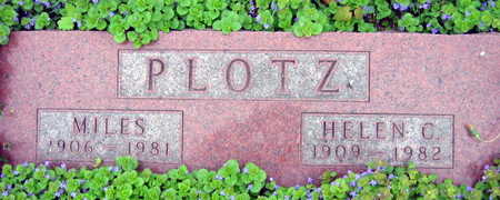 PLOTZ, HELEN C. - Linn County, Iowa | HELEN C. PLOTZ