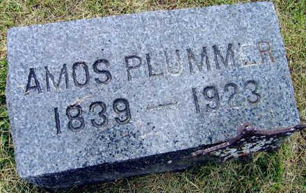 PLUMMER, AMOS - Linn County, Iowa | AMOS PLUMMER