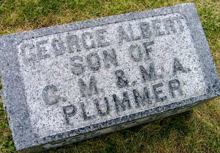 PLUMMER, GEORGE ALBERT - Linn County, Iowa | GEORGE ALBERT PLUMMER
