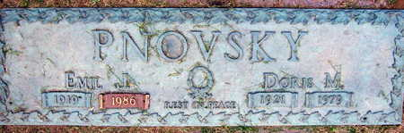 PNOVSKY, DORIS M. - Linn County, Iowa | DORIS M. PNOVSKY