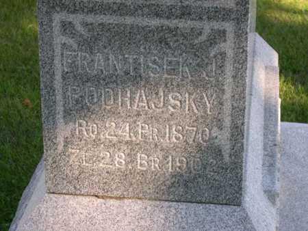 PODHASKY, FRANTISEK J. - Linn County, Iowa | FRANTISEK J. PODHASKY