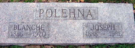 POLEHNA, BLANCHE - Linn County, Iowa | BLANCHE POLEHNA