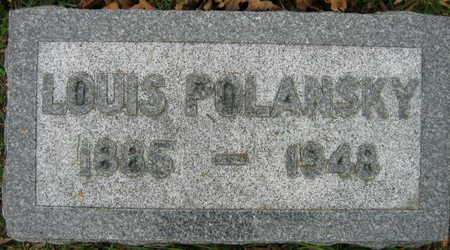 POLANSKY, LOUIS - Linn County, Iowa | LOUIS POLANSKY