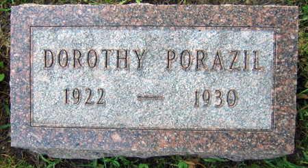 PORAZIL, DOROTHY - Linn County, Iowa | DOROTHY PORAZIL