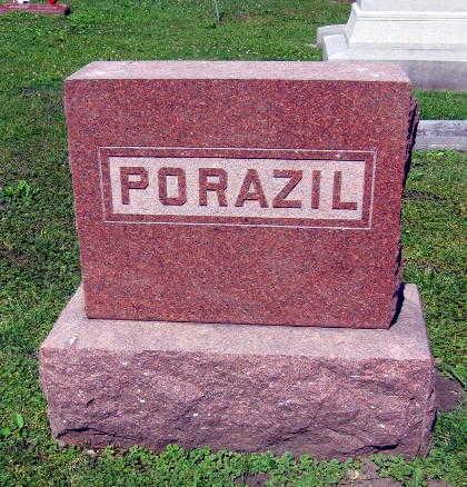 PORAZIL, FAMILY STONE - Linn County, Iowa | FAMILY STONE PORAZIL