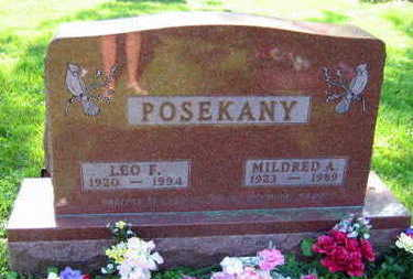 POSEKANY, MILDRED A. - Linn County, Iowa | MILDRED A. POSEKANY