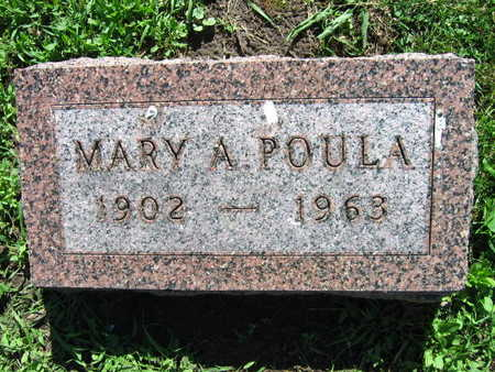 POULA, MARY A. - Linn County, Iowa | MARY A. POULA