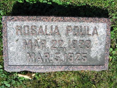 POULA, ROSALIA - Linn County, Iowa | ROSALIA POULA