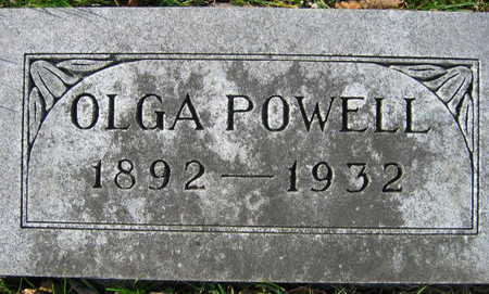 POWELL, OLGA - Linn County, Iowa | OLGA POWELL