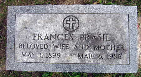 PRASIL, FRANCES - Linn County, Iowa | FRANCES PRASIL