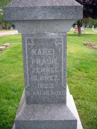PRASIL, KAREL - Linn County, Iowa | KAREL PRASIL