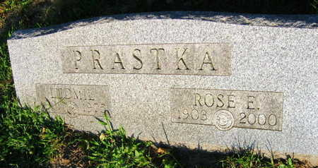 PRASTKA, ROSE E. - Linn County, Iowa | ROSE E. PRASTKA