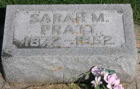 PRATT, SARAH M. - Linn County, Iowa | SARAH M. PRATT