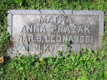 PRAZAK, ANNA - Linn County, Iowa | ANNA PRAZAK