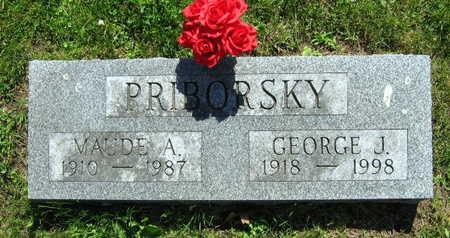 PRIBORSKY, GEORGE J. - Linn County, Iowa | GEORGE J. PRIBORSKY