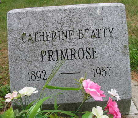 BEATTY PRIMROSE, CATHERINE - Linn County, Iowa | CATHERINE BEATTY PRIMROSE