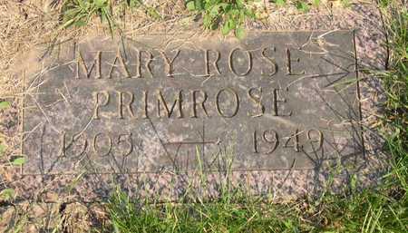 PRIMROSE, MARY ROSE - Linn County, Iowa | MARY ROSE PRIMROSE
