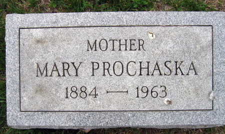 PROCHASKA, MARY F. - Linn County, Iowa | MARY F. PROCHASKA