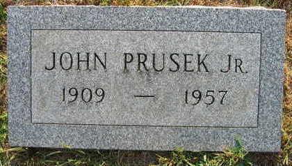 PRUSEK, JOHN JR. - Linn County, Iowa | JOHN JR. PRUSEK