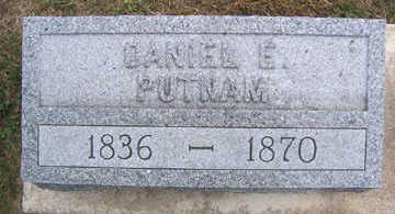 PUTNAM, DANIEL E. - Linn County, Iowa | DANIEL E. PUTNAM