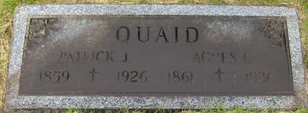QUAID, AGNES I. - Linn County, Iowa | AGNES I. QUAID