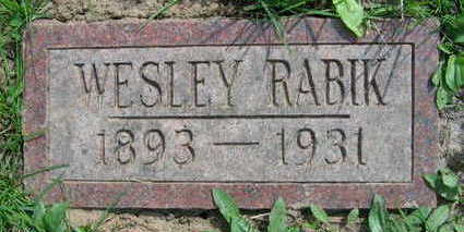 RABIK, WESLEY - Linn County, Iowa | WESLEY RABIK