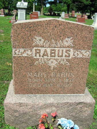 RABUS, MARY - Linn County, Iowa | MARY RABUS