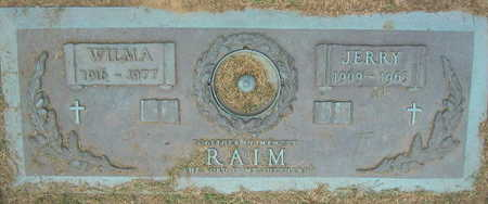 RAIM, JERRY - Linn County, Iowa | JERRY RAIM