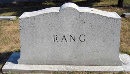 RANC, FAMILY STONE - Linn County, Iowa | FAMILY STONE RANC