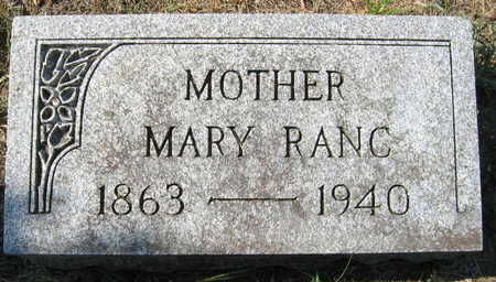 RANC, MARY - Linn County, Iowa | MARY RANC