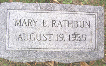 RATHBUN, MARY E. - Linn County, Iowa | MARY E. RATHBUN